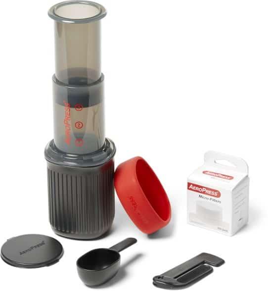 Regalos Aeropress Coffee Press para excursionistas